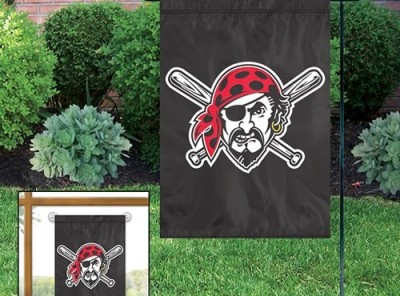 Pittsburgh Pirates Applique Garden / Window Flag
