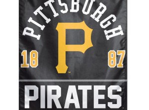 "Pittsburgh Pirates Banner, 27"" x 37"""