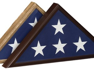 """Classic """"Veteran"""" Flag Case"""
