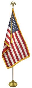 Indoor U.S. Flag Set