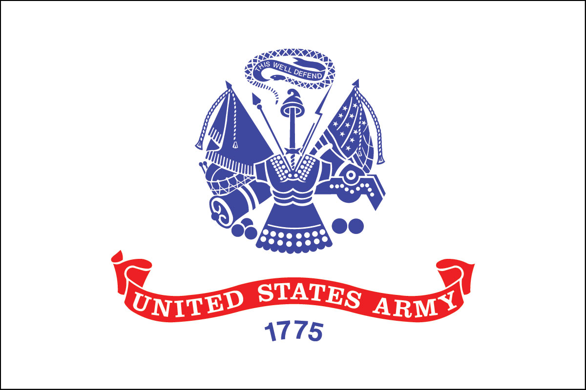 flag of the U.S. Army
