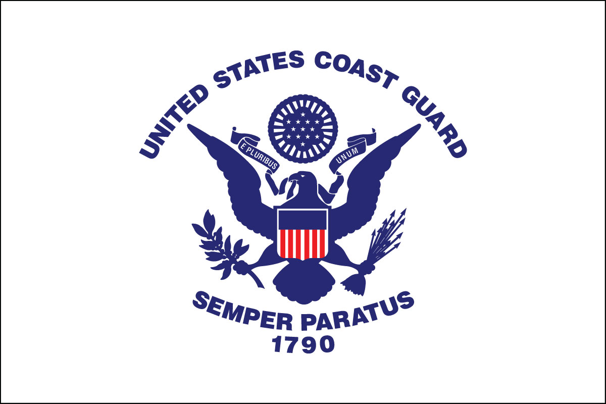 flag of the U.S. Coast Guard