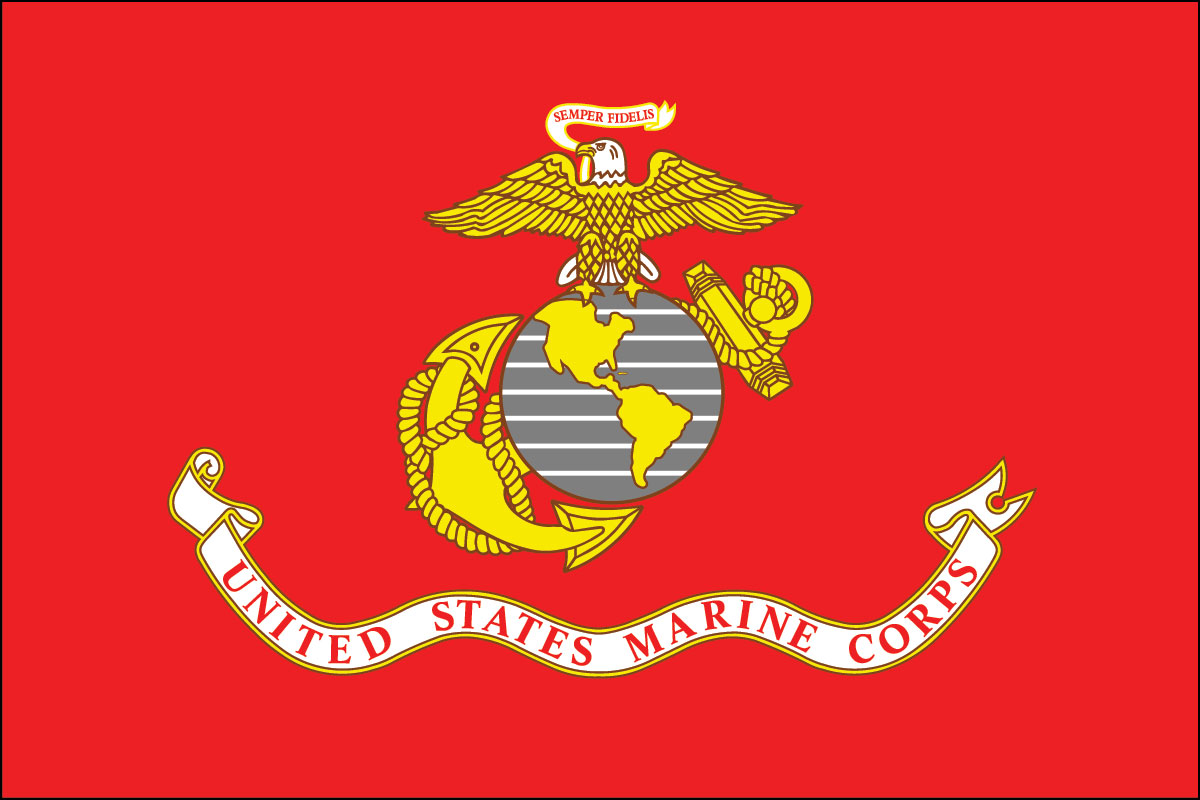 Flag of the U.S. Marine Corp
