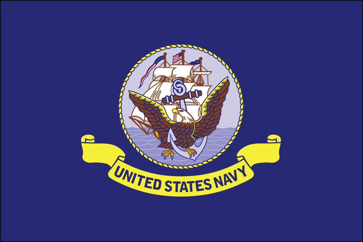 flag of the U.S. Navy
