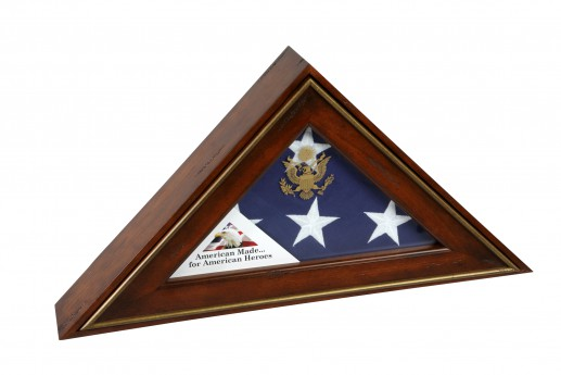 Flag Case-5-Star-General-65-Antique-Cherry-Closed