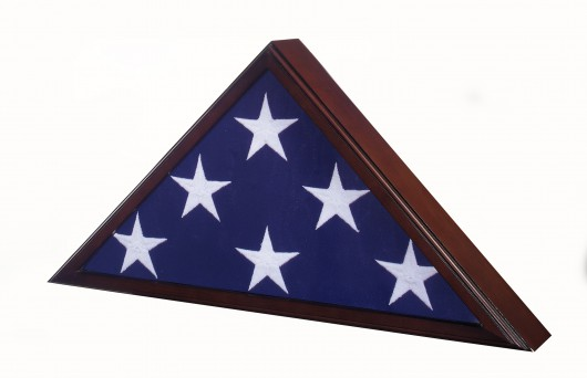 Flag-Case-Memorial-Cherry