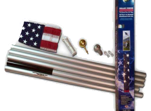 20 ft Sectional Flagpole Kit
