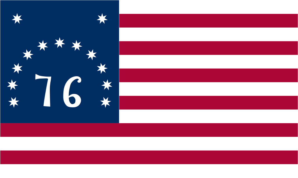 Historical Bennington flag