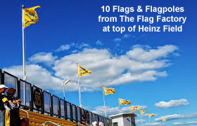 Heinz Field Flags - North End copy
