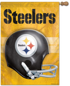 Steeler Banner - Gold - SR