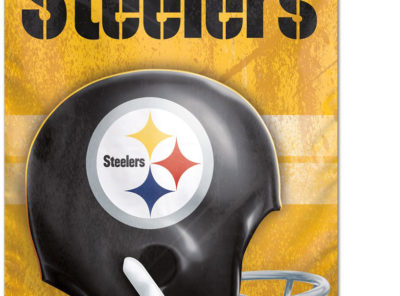 Steelers Banner (Gold),  27 in x 37 in