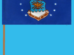 Air Force Flag – 12″ x 18″ on staff