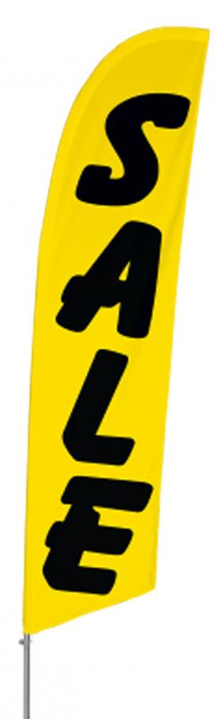 Tall Flag Set – SALE (Yellow)
