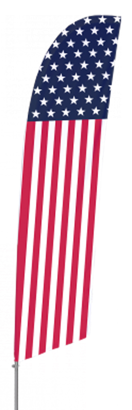 Tall Flag Set – Stars & Stripes