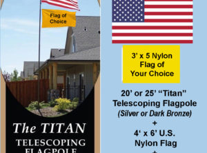 MY CHOICE Flagpole Package