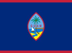 flag for Guam