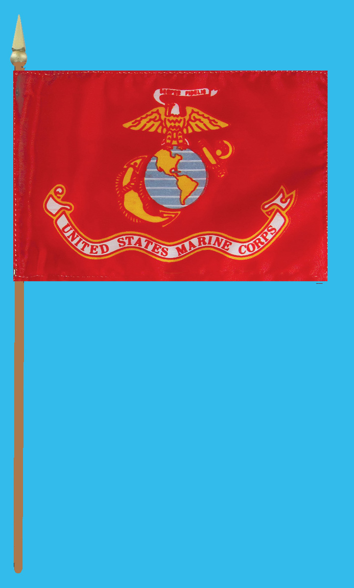 Marine Corps Grave Flag