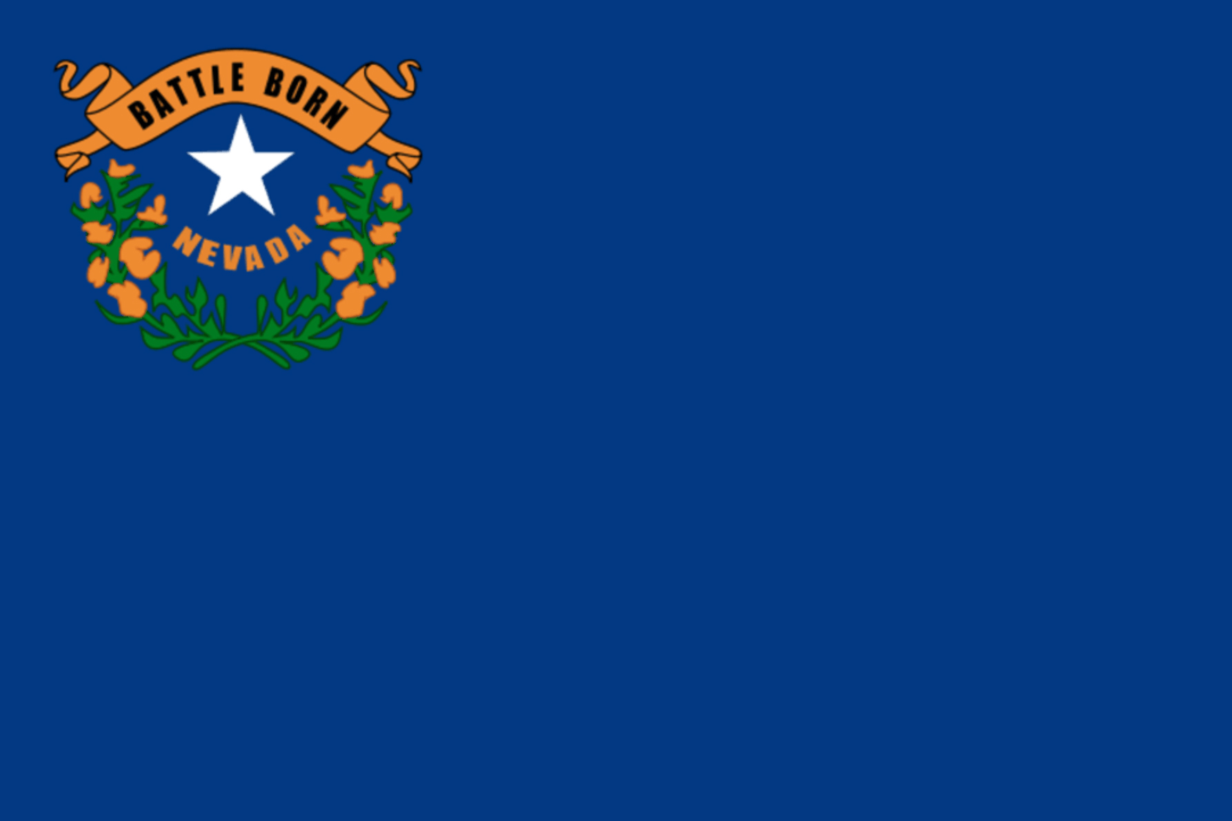 Nevada Stat flag