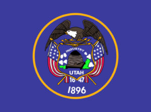 State flag of Utah