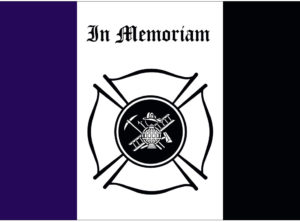 Firefighters In Memoriam Nylon Flag 3 ft x 5 ft