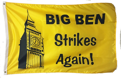 3 ft x 5 ft Big Ben nylon flag