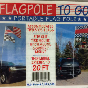 20' flagpoles-to-go