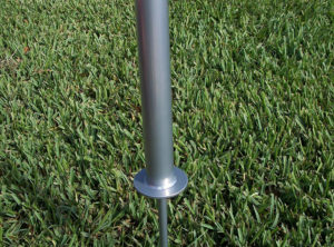 Ground Mount for Portable Flagpole