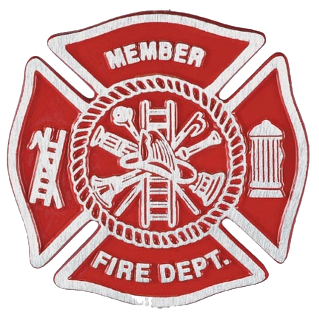 Gravemarker Firefighter Aluminum copy