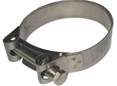 "Stainless Steel Clamp for 3″ ""Titan""Flagpole"