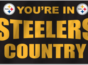 3 ft x 5 ft Steelers Country Flag